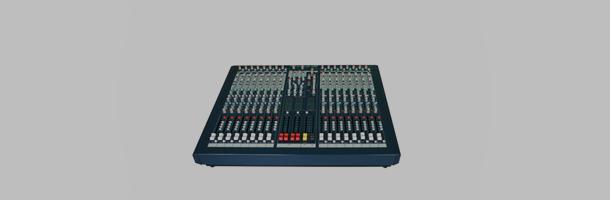 声艺soundcraft lx9-16调音台
